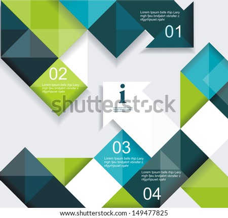 Modern Design Can Be Used Book Stock Vector 149477825 - Shutterstock