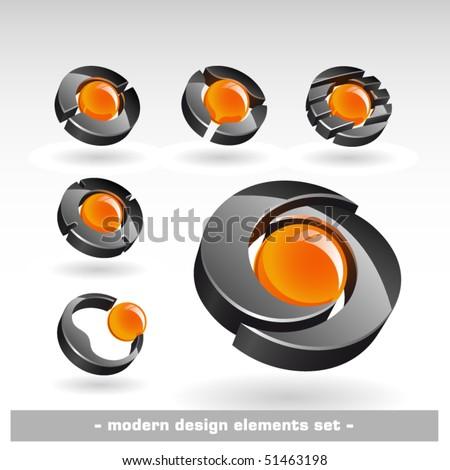 Modern design elements. Vector illustration - stock vector