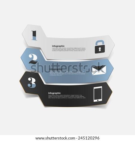 modern design infographics - stock vector