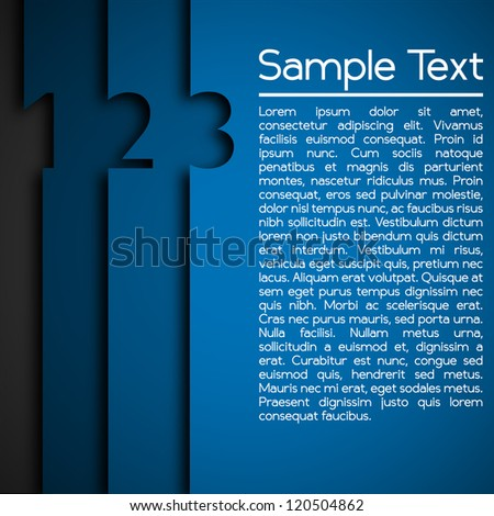 Modern Design Layout - stock vector