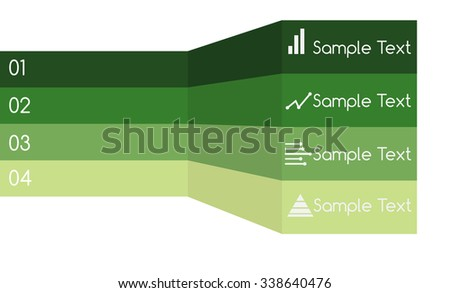 Modern Design template - can be used for infographics  - stock vector
