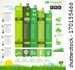 Modern ecology Design Layout - stock vector
