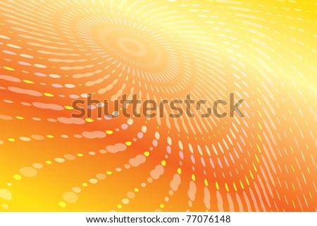 modern fractal vector pattern - stock vector