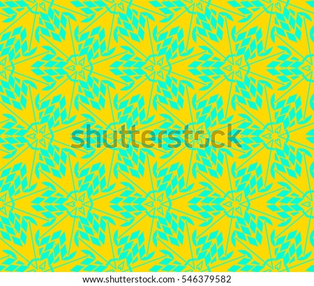 Modern geometric seamless pattern. For design, page fill, wallpaper. Vector illustration