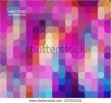 Modern geometrical abstract background - stock vector