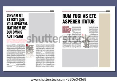 Modern Newspaper Template Choice Image Template Design Ideas