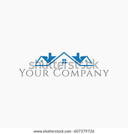 Stock images royalty free images vectors shutterstock for Modern house logo