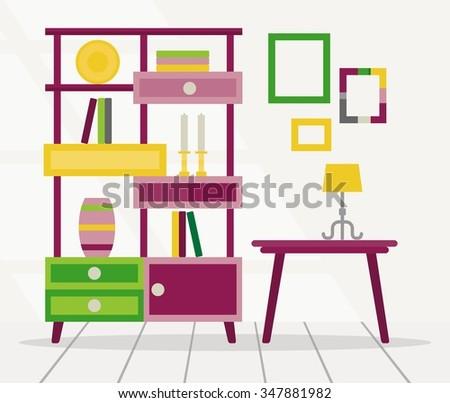 Children Room Stock Vector 453746008 Shutterstock