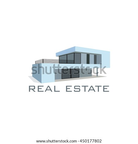 Stock photos royalty free images vectors shutterstock for Modern house logo