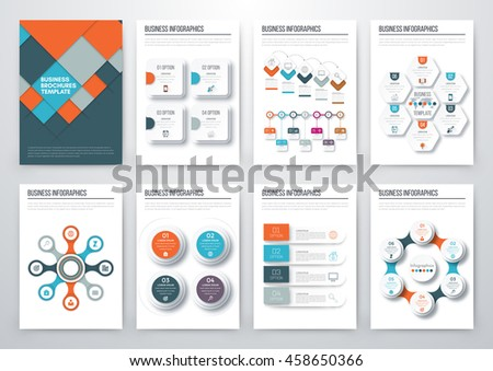 Fresh Infographics Vector Concept Business Graphics Stock Vector ...