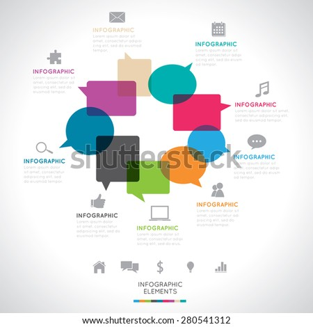 Modern Infographics - stock vector