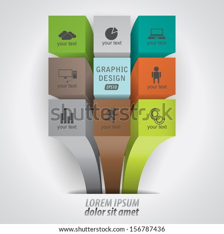 modern infographics data / vector pattern / can be used for business, advertising, design, and presentations. - stock vector