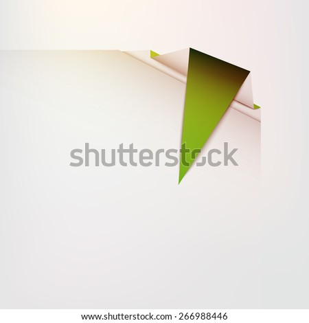Modern infographics pointer - stock vector