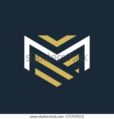 M Logo Images M Stock Images,...