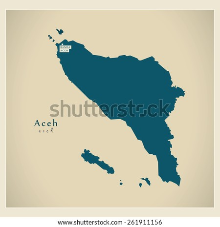 Modern Map - Aceh ID