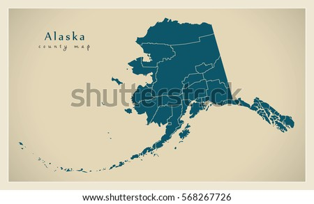 Httpsthumbshutterstockcomdisplaypicwithl - Alaska county map