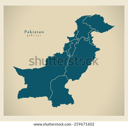 Pakistan Map Stock Images RoyaltyFree Images Vectors - Map pakistan