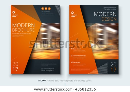 Layout stock photos royalty free images vectors for Modern brochure design templates