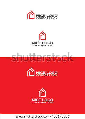 Cube logo stock images royalty free images vectors for Modern house logo