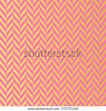 Modern seamless golden wallpaper pattern. Geometric decorative pattern with pink stripes.