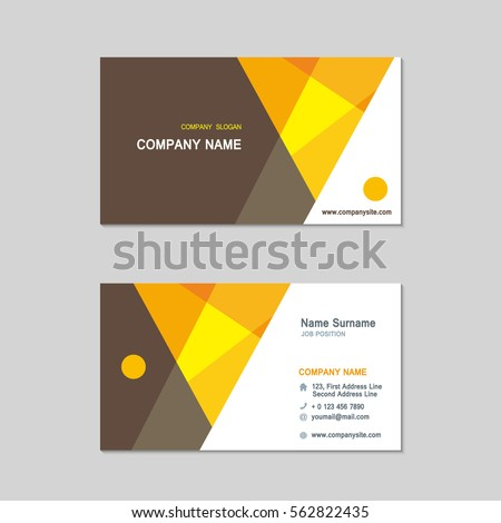 Modern simple business card set template stock vector 562822435 modern simple business card set template design template vector illustration reheart Gallery
