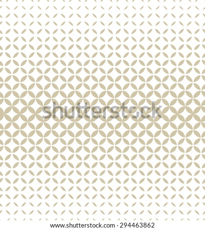 Modern stylish texture, halftone. Vector seamless pattern. Repeating geometric tiles.  - stock vector