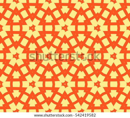 Modern stylish texture.Stylish background with fancy elements. Vector seamless pattern.