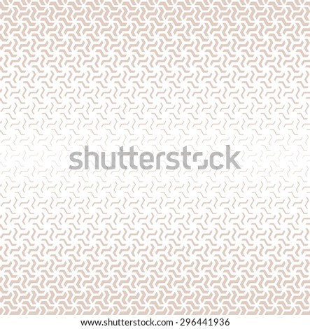 Modern stylish texture.Vector seamless pattern. Repeating geometric tiles.  - stock vector