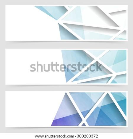 Modern tile geometrical arabic style banner. Vector illustration - stock vector