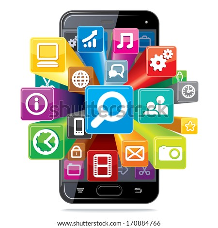 Android Icons Stock Images, Royalty-Free Images & Vectors ...