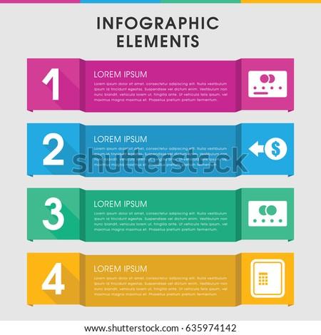 modern transaction infographic template infographic design stock, Spe Presentation Template, Presentation templates