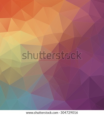 Modern Two-dimensional  colorful background for web design - stock vector