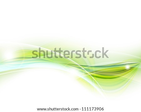 modern vector background with wavy lines and copy space. Eps10