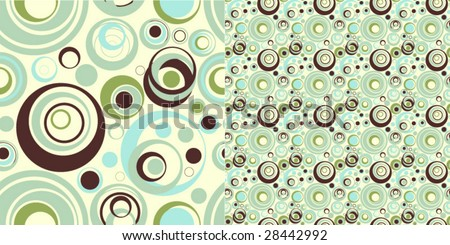 Modern vector pattern in stylish colors
