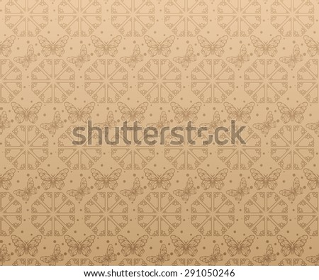 Modern wallpaper background for Your design. For decorating books, postcards, wallpaper, wall, web design. Background in style vintage. Vector background - stock vector