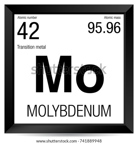 Molybdenum symbol element number 42 periodic stock photo photo molybdenum symbol element number 42 of the periodic table of the elements chemistry urtaz Image collections