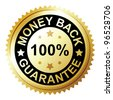 Money Back Guarantee - stock vector