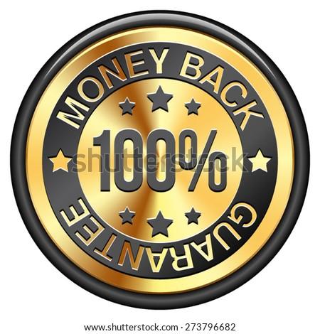 Money Back Guarantee - stock vector