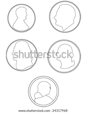 stock vector money icons 24317968 quarter coin stock vectors, images & vector art shutterstock,A Penny In Fuse Box