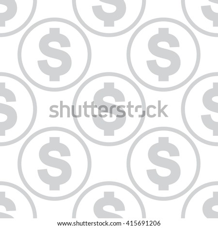 Money pattern black. Money pattern modern. Money pattern monochrome. Money pattern trendy. Money pattern seamless. Money pattern simple. Money pattern for web. Money pattern for fabric.  - stock vector