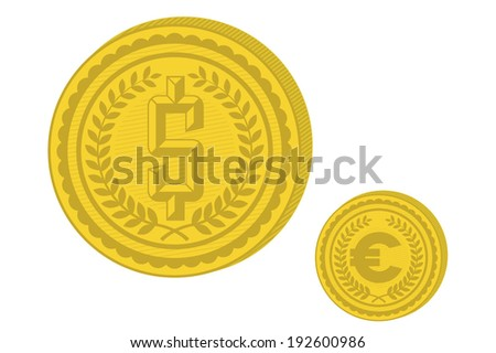 Money symbol - stock vector
