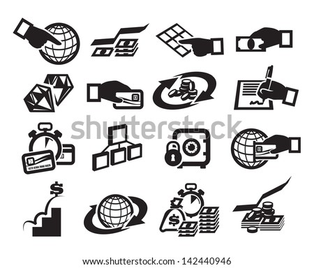 Money. Vector illustration - stock vector