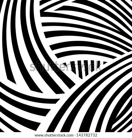 Monochrome abstract background - vector - stock vector