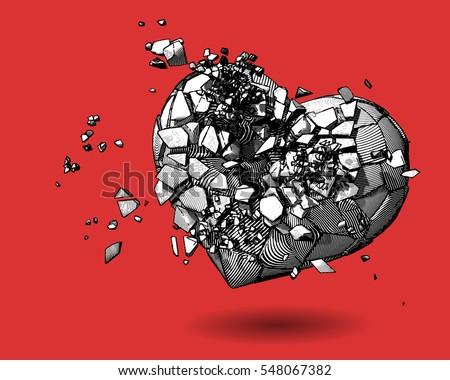 Broken Heart Stock Images Royalty Free Images Amp Vectors Shutterstock