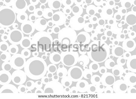 monochrome gray abstract background circle dot vector - stock vector