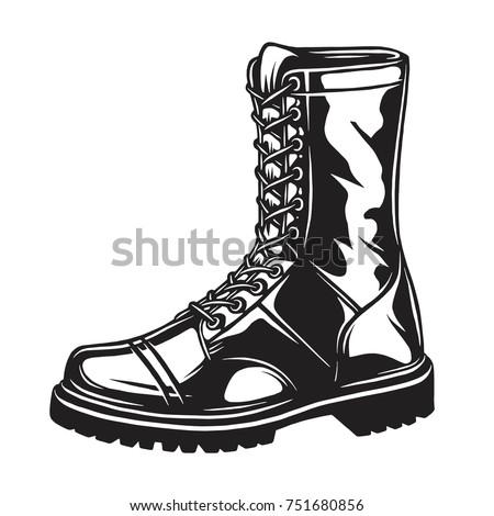 combat boots stock images royaltyfree images amp vectors