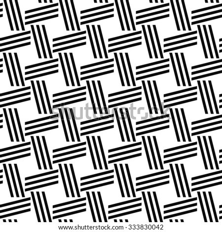 Monochrome repeating line pattern
