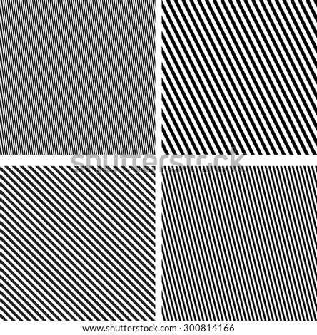 Monochrome Seamless Pattern . Geometric Diagonal Lines . Endless Texture for Surface Texture , Pattern Fills . Fabric Repetitive Stripe Pattern . Chevron Seamless Pattern . Oblique . Slanting Lines . - stock vector