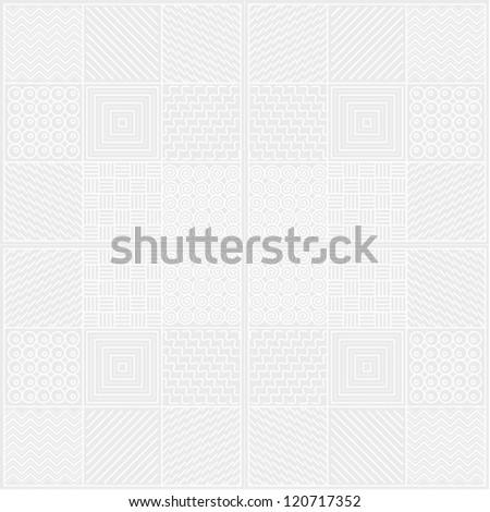 Monochrome white texture - stock vector