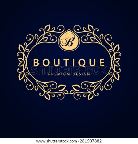 Boutique stock photos images pictures shutterstock for Hotel logo design samples